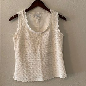 St. John knit top/ tank